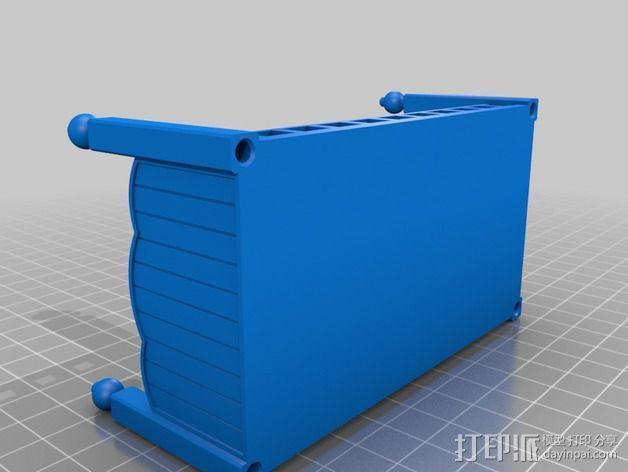 玩偶之家 床  3D模型  图2