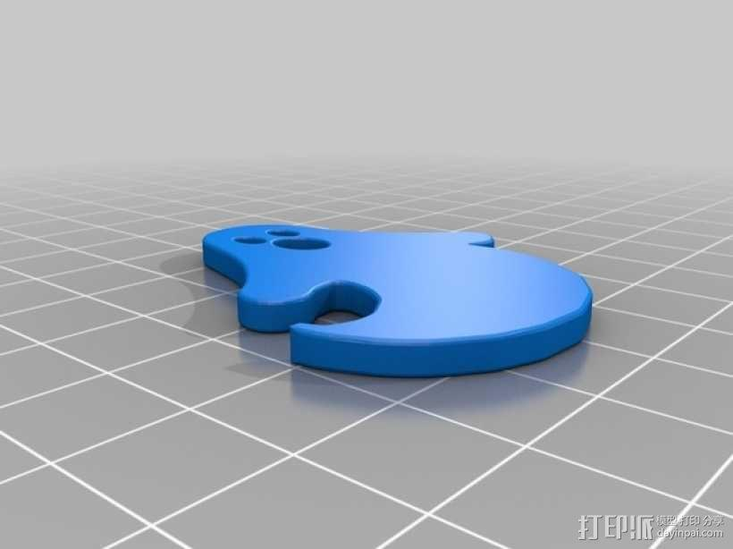 幽灵 3D模型  图2