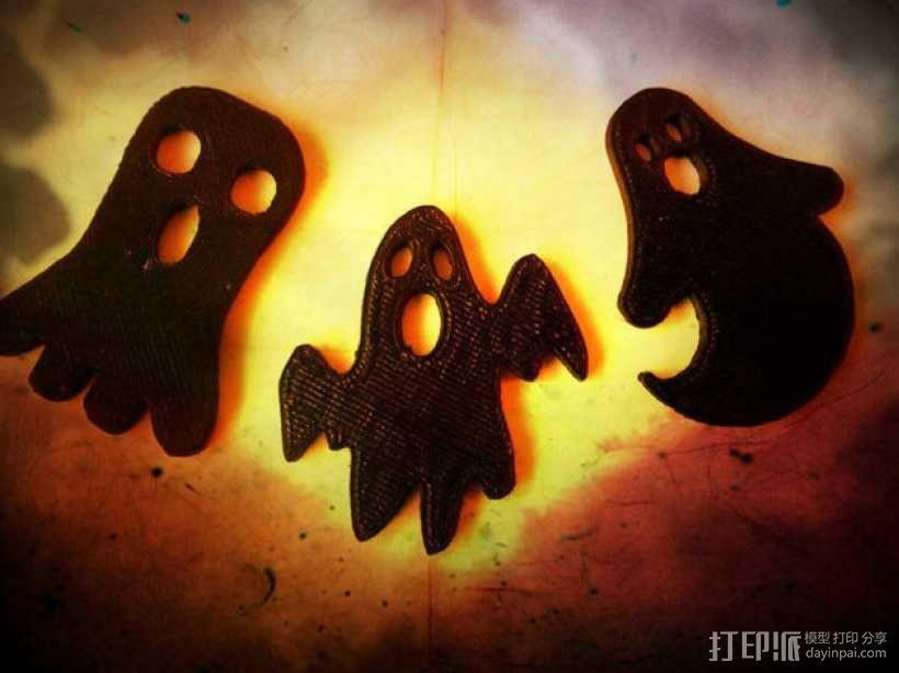 幽灵 3D模型  图1