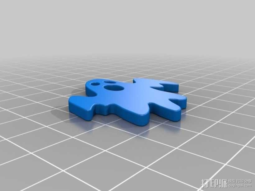 幽灵 3D模型  图3