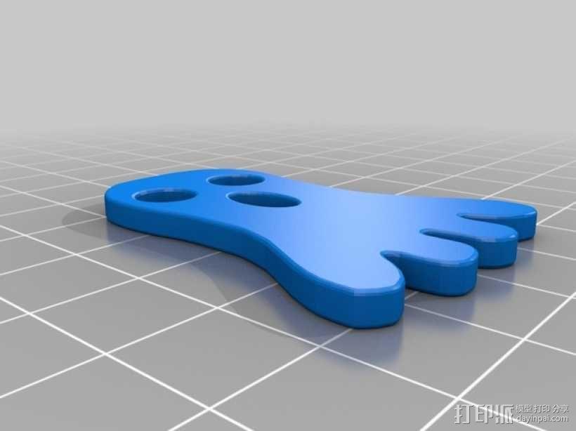 幽灵 3D模型  图4