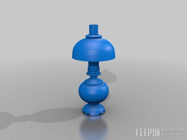 维多利亚灯 3D模型  图6