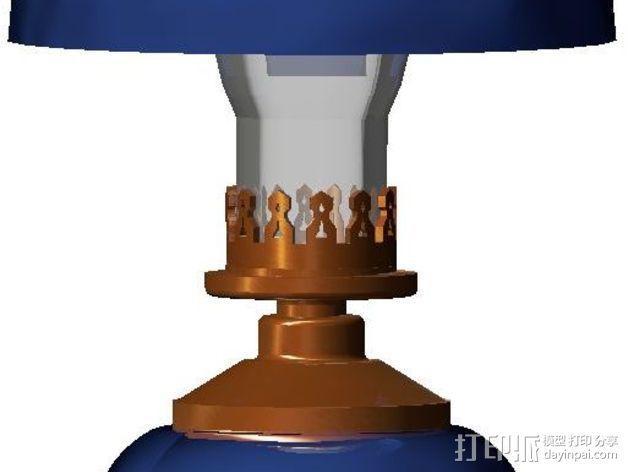 维多利亚灯 3D模型  图11