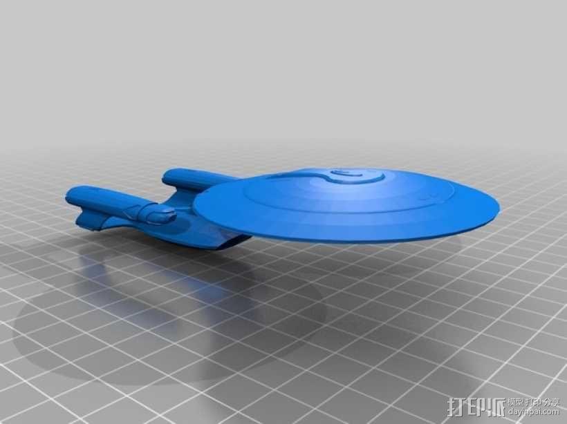 银河级星舰 3D模型  图1