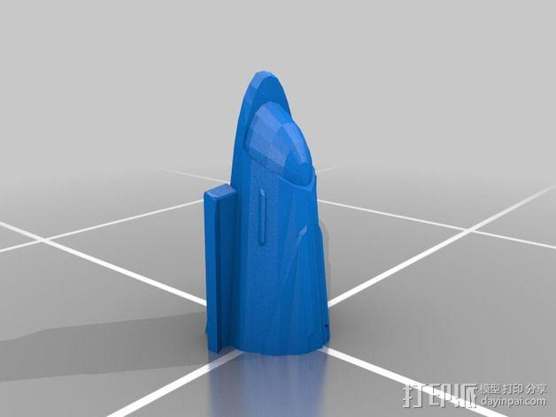 曼德拉星舰 3D模型  图2