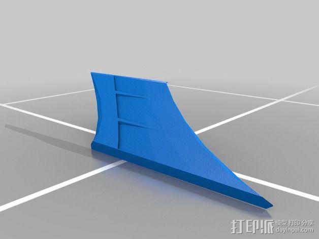 曼德拉星舰 3D模型  图5
