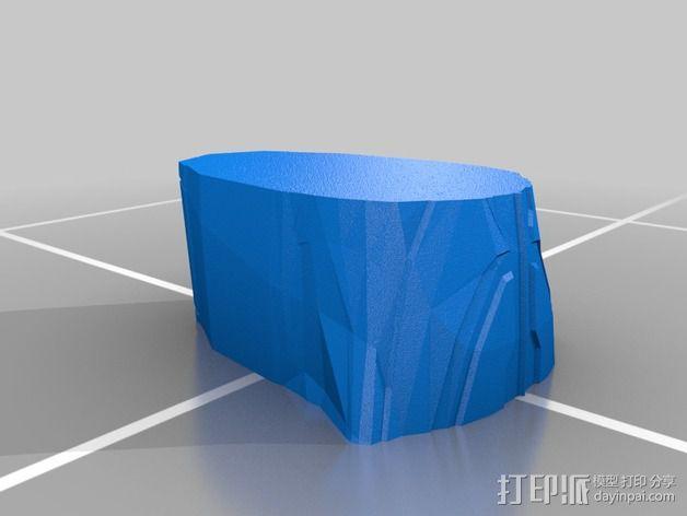 曼德拉星舰 3D模型  图4
