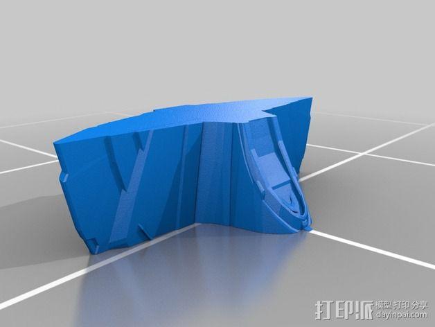 曼德拉星舰 3D模型  图6