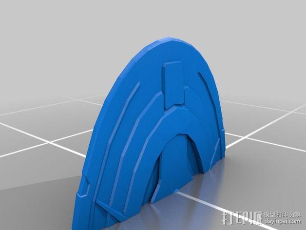 曼德拉星舰 3D模型  图7