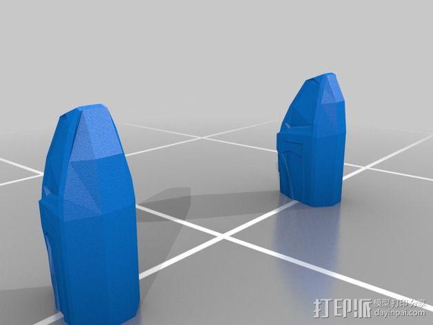 曼德拉星舰 3D模型  图9
