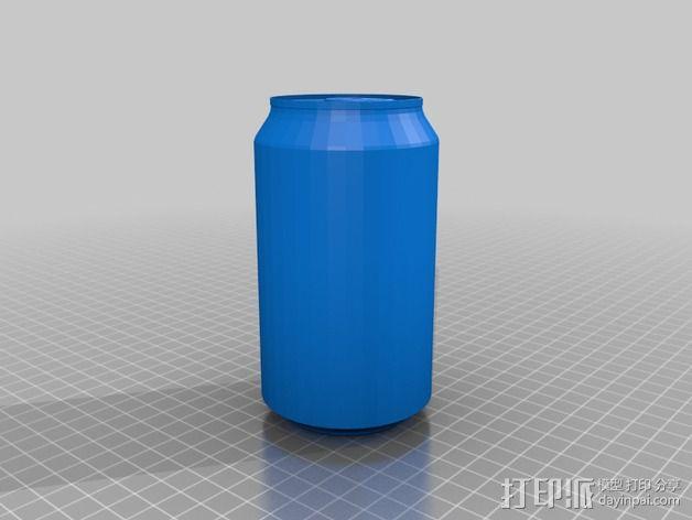 可乐罐 3D模型  图2