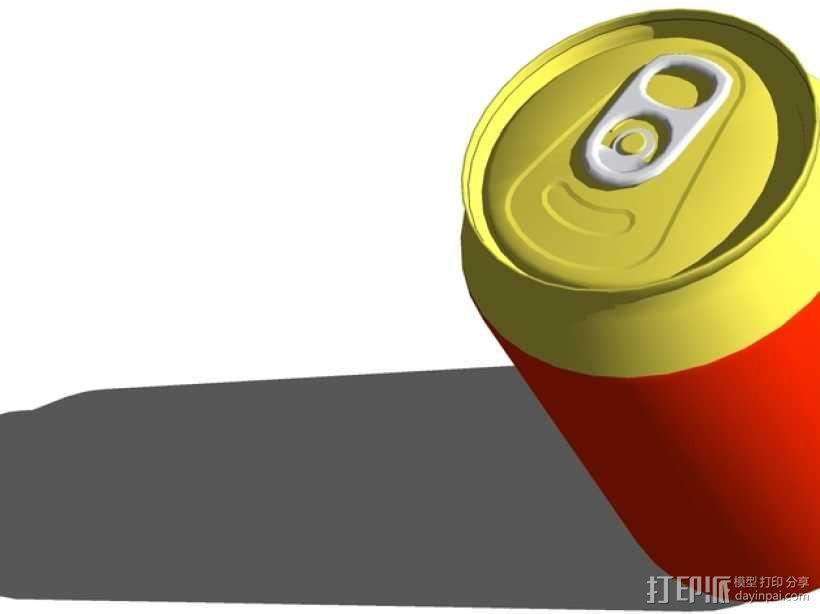 可乐罐 3D模型  图1
