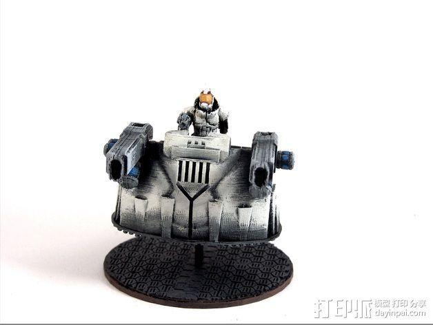 可移动炮塔 3D模型  图5