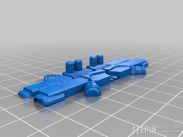 可移动炮塔 3D模型  图7