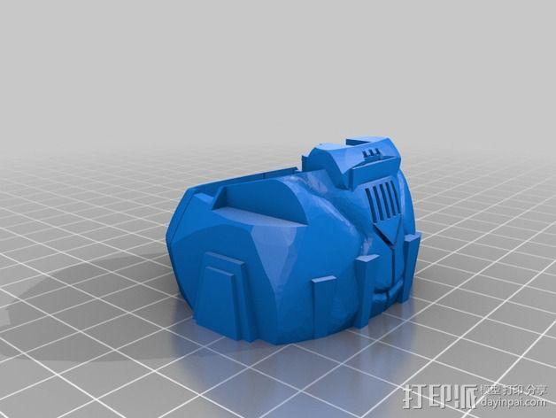 可移动炮塔 3D模型  图8