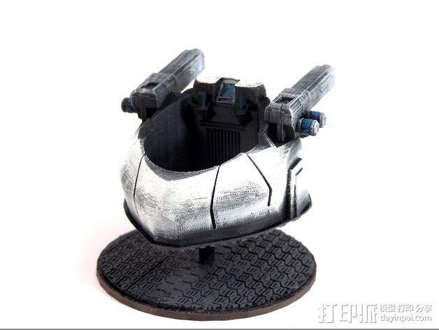 可移动炮塔 3D模型  图6