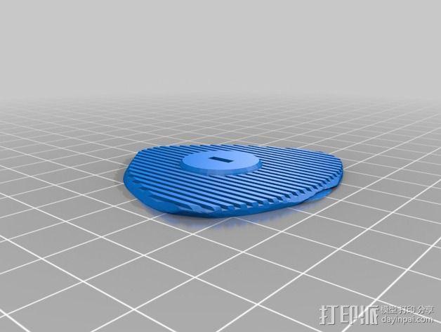 可移动炮塔 3D模型  图9