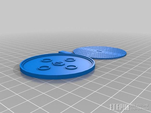 可移动炮塔 3D模型  图10