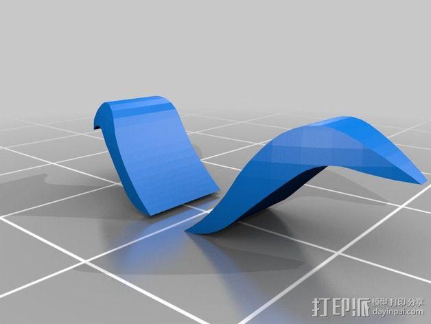暗夜骑士 威廉头部模型 3D模型  图4