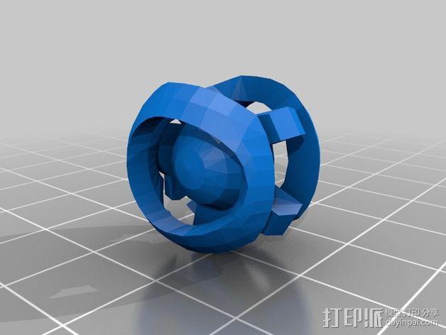 光晕监视器 3D模型  图1