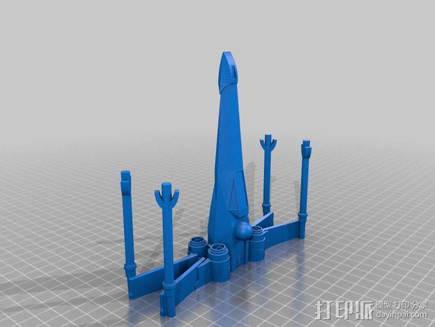 x翼战斗机 3D模型  图2