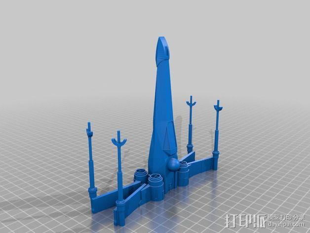 x翼战斗机 3D模型  图5