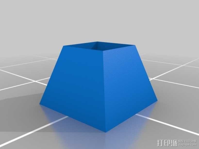 爆米花车 3D模型  图2