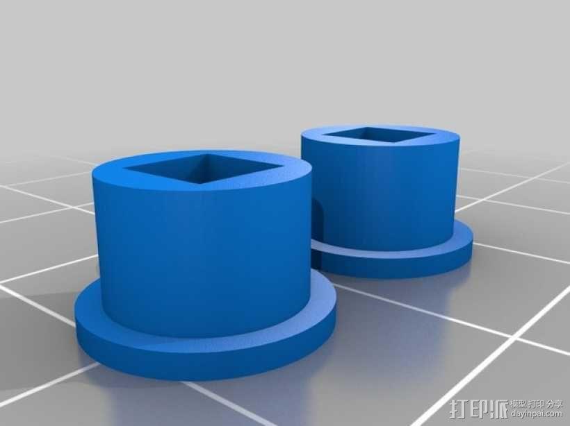 爆米花车 3D模型  图6