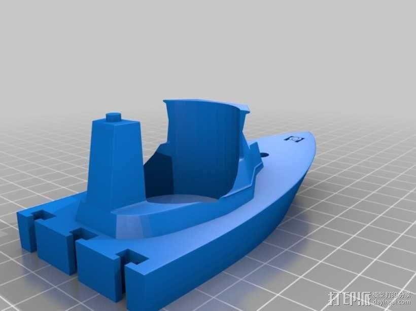 战舰酒杯托 3D模型  图6