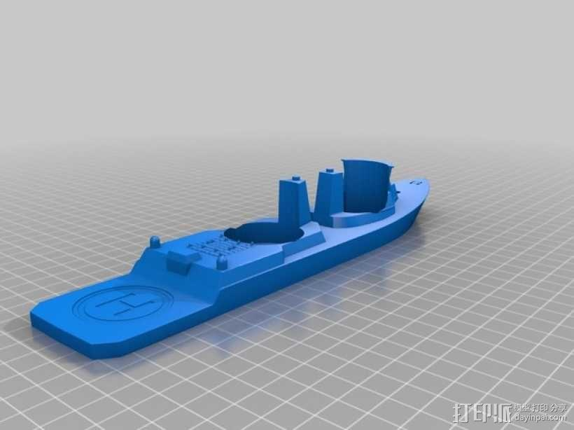战舰酒杯托 3D模型  图7