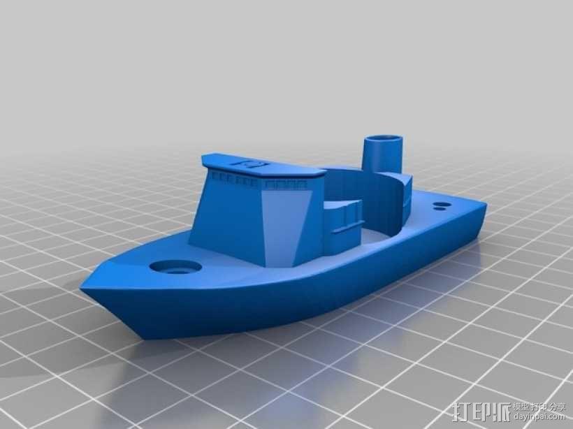 战舰酒杯托 3D模型  图8