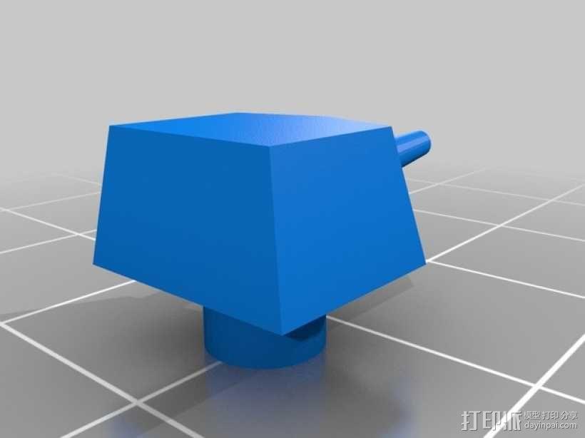 战舰酒杯托 3D模型  图9