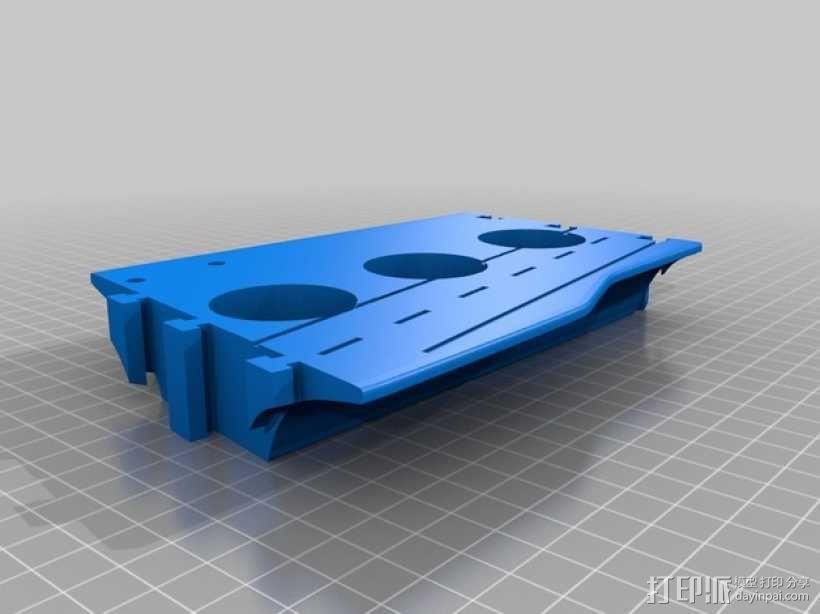 战舰酒杯托 3D模型  图14