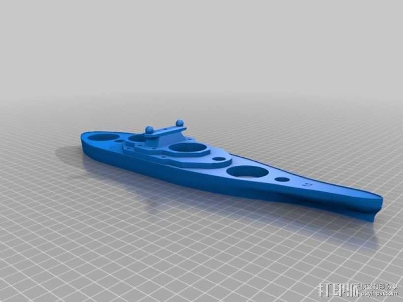 战舰酒杯托 3D模型  图13