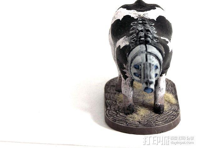 奶牛机器人 3D模型  图8