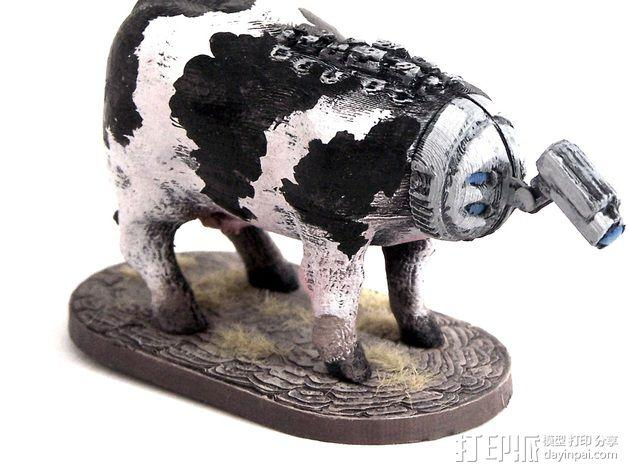 奶牛机器人 3D模型  图10