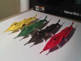 鹦鹉螺潜艇 3D模型