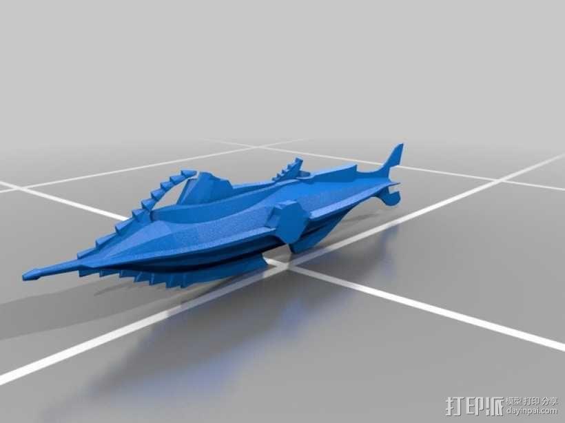 鹦鹉螺潜艇 3D模型  图3