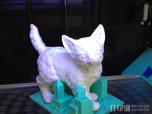 喵星人 3D模型  图2