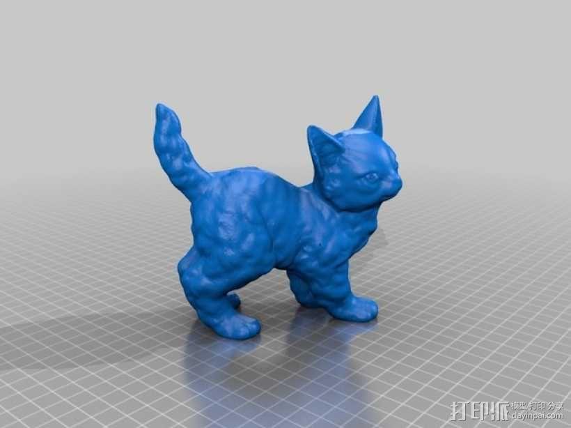 喵星人 3D模型  图3