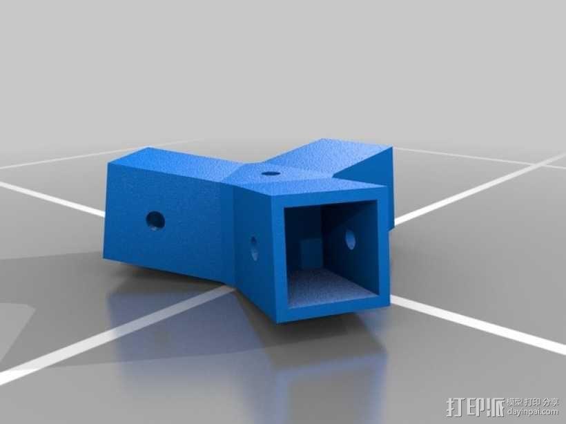 中心连接器 3D模型  图3
