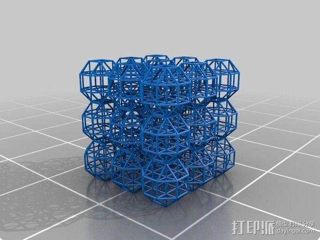 中心连接器 3D模型  图2