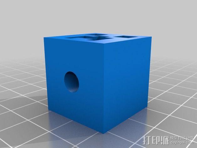 我的世界爬行者 3D模型  图4