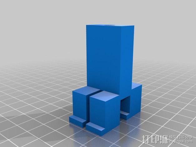 我的世界爬行者 3D模型  图2
