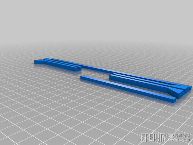 废墟 篱笆 栅栏 3D模型  图2