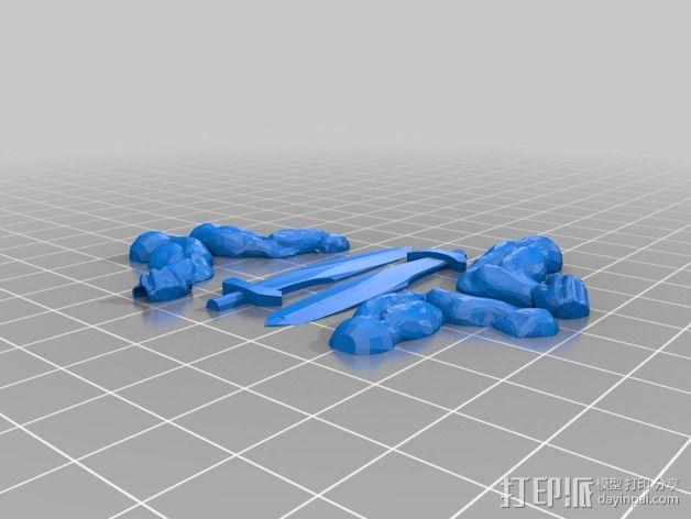 伏尔加维京 维京人  游戏造型 3D模型  图11