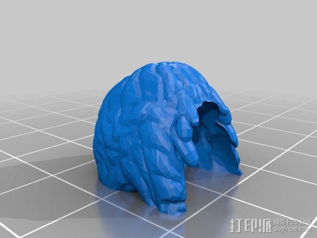 伏尔加维京 维京人  游戏造型 3D模型  图12