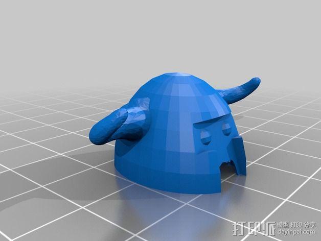 伏尔加维京 维京人  游戏造型 3D模型  图13