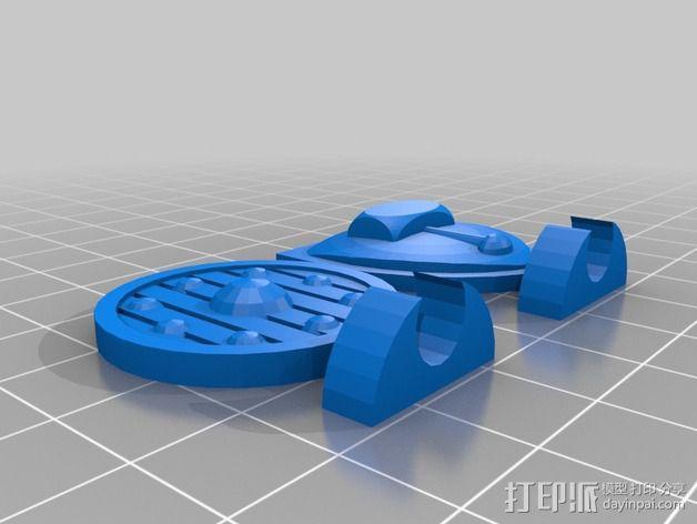 伏尔加维京 维京人  游戏造型 3D模型  图14