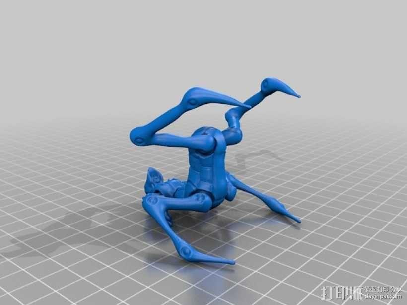蜘蛛外星人 3D模型  图5